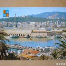 Postales: PALMA DE MALLORCA - PASEO MARITIMO (ESCRITA Y CIRCULADA). Lote 195410197