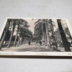 Postales: POSTAL ANTIGUA MALLORCA. PASEO SAGRERA TRUYOL. Lote 195418071