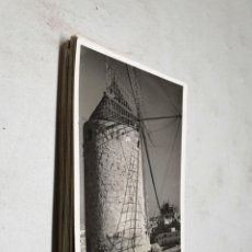 Postales: POSTAL ANTIGUA MALLORCA. VIEJO MOLINO Y LA CATEDRAL. TRUYOL. . Lote 195418142