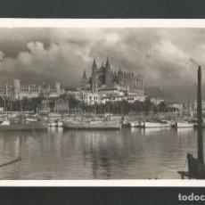 Postales: POSTAL SIN CIRCULAR - PALMA DE MALLORCA 41 - DETALLE DEL PUERTO - EDITA GRAFICAS GUILLERS. Lote 195427538