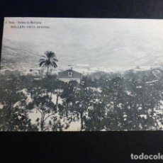 Postales: SOLLER MALLORCA VISTA GENERAL NEVADA ED. J. TOUS REVERSO SIN DIVIDIR. Lote 195890917