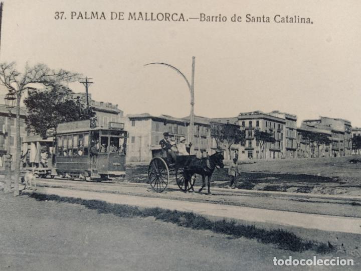 PALMA DE MALLORCA-BARRIO DE SANTA CATALINA-POSTAL ANTIGUA-(68.562) (Postales - España - Baleares Antigua (hasta 1939))