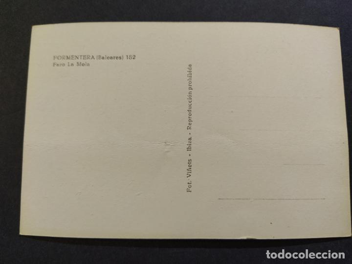 Postales: FORMENTERA-FARO LA MOLA-FOTO VIÑETS-POSTAL ANTIGUA-(68.568) - Foto 3 - 196226442