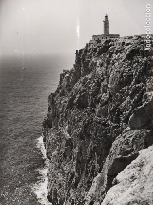 FORMENTERA-FARO LA MOLA-FOTO VIÑETS-POSTAL ANTIGUA-(68.568) (Postales - España - Baleares Antigua (hasta 1939))