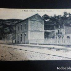 Postales: BUÑOLA BALEARES ESTACION DEL FERROCARRIL. Lote 196227986