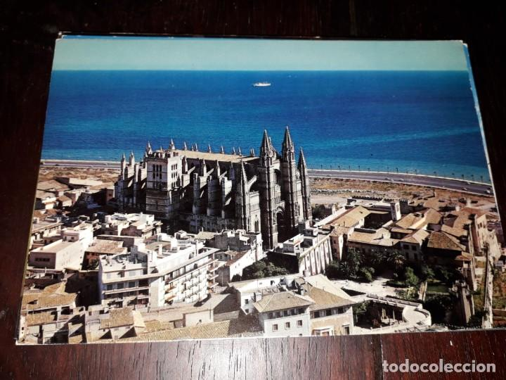 Nº 36715 POSTAL MALLORCA PALMA LA CATEDRAL (Postales - España - Baleares Moderna (desde 1.940))
