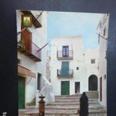 Postales: IBIZA CALLE TIPICA. Lote 197318508