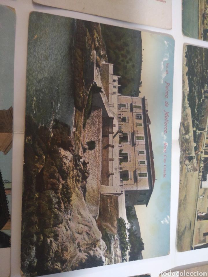 Postales: Lote de 11 postales Palma de Mallorca - Baleares - - Foto 3 - 199087130