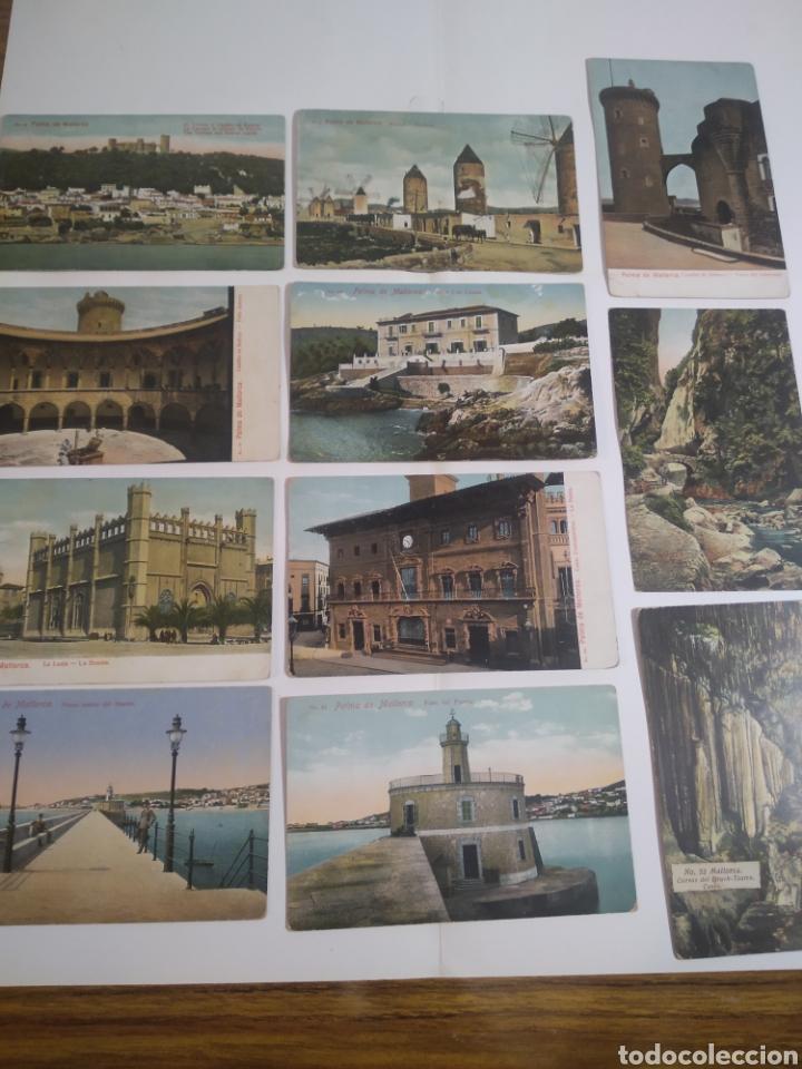 LOTE DE 11 POSTALES PALMA DE MALLORCA - BALEARES - (Postales - España - Baleares Moderna (desde 1.940))