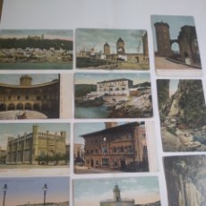 Postales: LOTE DE 11 POSTALES PALMA DE MALLORCA - BALEARES -. Lote 199087130