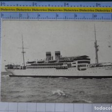 Cartes Postales: POSTAL DE BARCOS NAVIERAS. BARCO BUQUE MOTONAVE INFANTA BEATRIZ COMPAÑÍA TRASMEDITERRANEA. 9. Lote 199775913