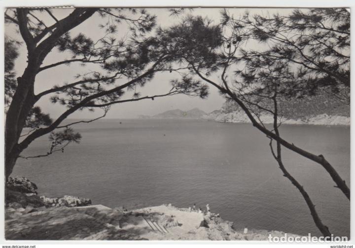 ESPAÑA BALEARES ANDRAIX MALLORCA PUERTO 1960 (Postales - España - Baleares Moderna (desde 1.940))