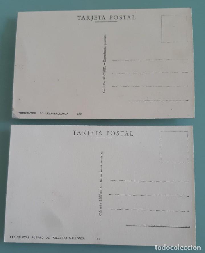 Postales: POSTALES ANTIGUAS POLLENSA VISTAS PANORAMICAS DE LA CALETA Y FORMENTOR - Foto 2 - 200356390