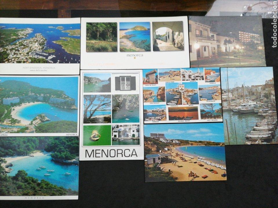 MENORCA, LOTE DE 9 POST. (Postales - España - Baleares Moderna (desde 1.940))