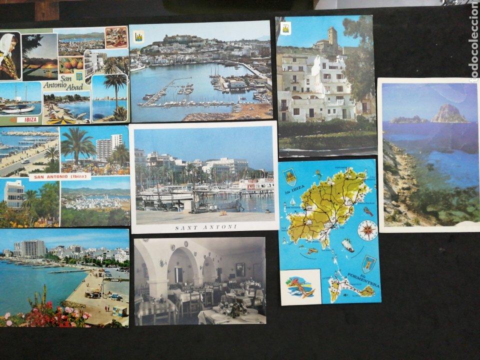 SAN ANTONIO ABAD, IBIZA . LOTE DE 9 POST. (Postales - España - Baleares Moderna (desde 1.940))