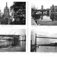 Postales: P-11468. LOTE DE 8 POSTALES FOTOGRAFICAS BILBAO, L. ROISIN. MEDIADOS S.XX.. Lote 202728761