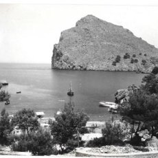 Postales: P-11473. POSTAL FOTOGRAFICA MALLORCA, LA CALOBRA I MORRO DE VACA. TRUYOL. 1958.. Lote 202821326