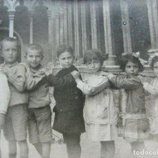 Postales: PALMA DE MALLORCA-ESCUELA CATOLICA ALEMANA-GRUPO DE ALUMNOS-POSTAL FOTOGRAFICA ANTIGUA-(69.425). Lote 203289835