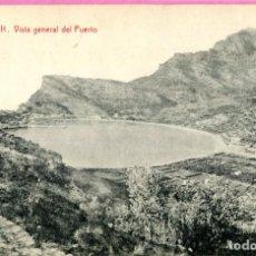 Postales: 1932 POSTAL CIRCULADA DE SOLLER VISTA GENERAL DEL PUERTO EDICION: LA ARTISTICA (VER DORSO). Lote 204112317