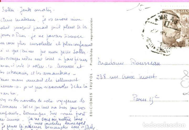Postales: MALLORCA SOLLER ENTRE NARANJOS Y NIEVE S/C EDIC.- TRUYOL CIRCULADA (Ver Dorso) Año 1954 - Foto 2 - 204113943