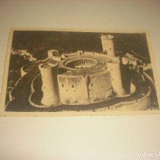 Postales: VISTA AEREA DEL CASTILLO DE BELLVER , PALMA DE MALLORCA . FOTO BALEAR, SIN CIRCULAR.. Lote 204176973