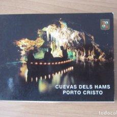 Postales: COLECCIÓN DE POSTALES CUEVAS DELS HAMS. MALLORCA. Lote 204420033