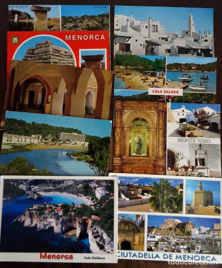 Postales: Colección de 40 postales de Menorca de diversas épocas, ver fotos - Foto 4 - 204449166
