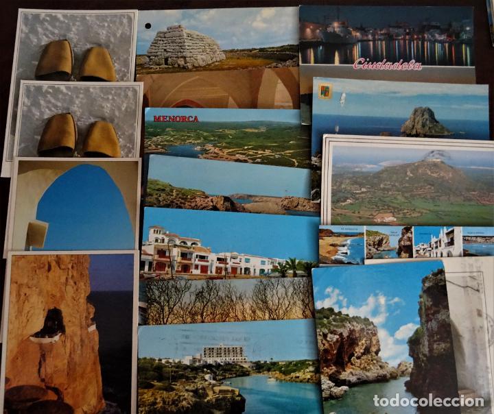 Postales: Colección de 40 postales de Menorca de diversas épocas, ver fotos - Foto 5 - 204449166