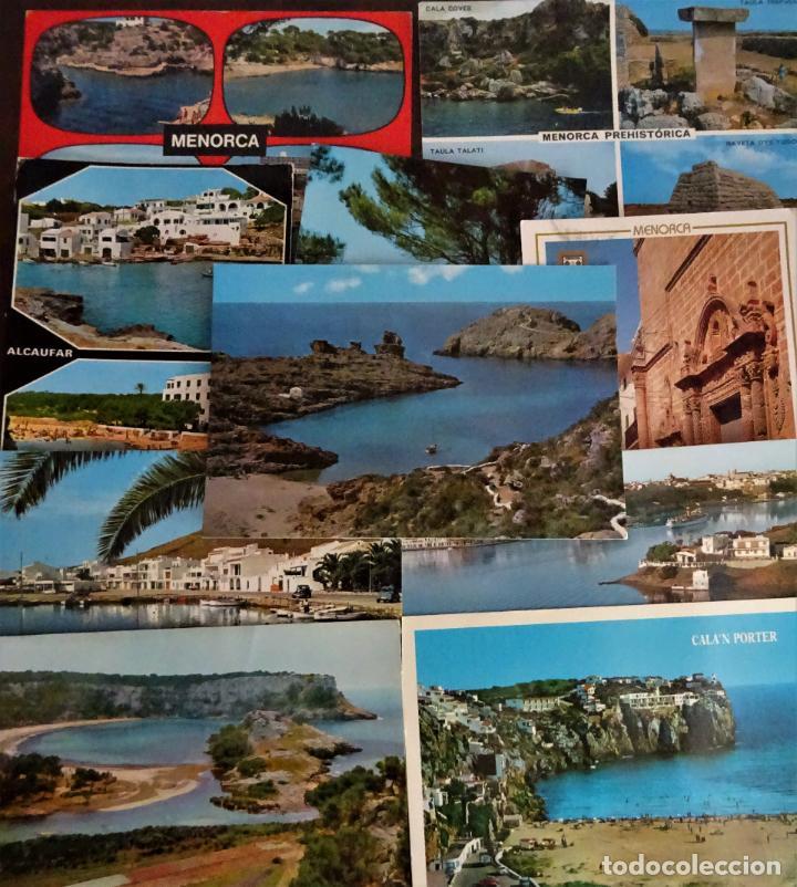 Postales: Colección de 40 postales de Menorca de diversas épocas, ver fotos - Foto 6 - 204449166
