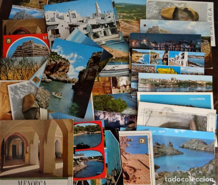 COLECCIÓN DE 40 POSTALES DE MENORCA DE DIVERSAS ÉPOCAS, VER FOTOS (Postales - España - Baleares Moderna (desde 1.940))