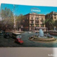 Postales: POSTAL MALLORCA CAMPARI DAUPHINE AUTOBUS AÑOS 60 CIRCULADA. Lote 204480060