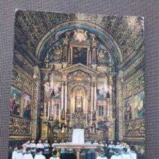 Postales: POSTAL FOTOGRÁFICA GRAN FORMATO 15X21 CM. MALLORCA. ESCOLANÍA SANTIARIO DE LLUC. Lote 204604382