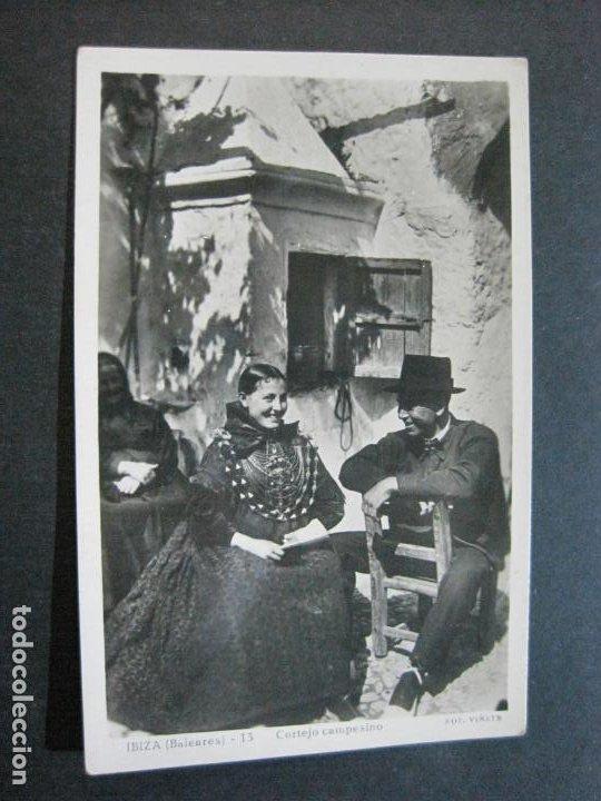 Postales: IBIZA-CORTEJO CAMPESINO-VIÑETS FOTOGRAFICA-13-POSTAL ANTIGUA-(70.238) - Foto 2 - 204800083