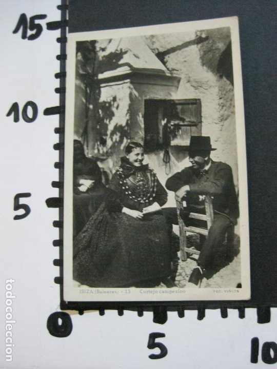 Postales: IBIZA-CORTEJO CAMPESINO-VIÑETS FOTOGRAFICA-13-POSTAL ANTIGUA-(70.238) - Foto 4 - 204800083