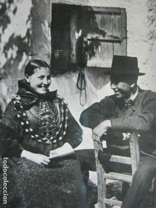 IBIZA-CORTEJO CAMPESINO-VIÑETS FOTOGRAFICA-13-POSTAL ANTIGUA-(70.238) (Postales - España - Baleares Antigua (hasta 1939))