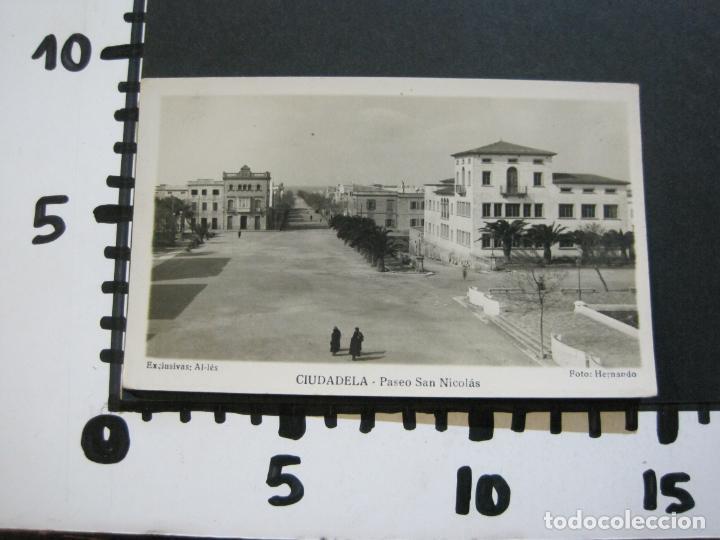 Postales: CIUDADELA-PASEO SAN NICOLAS-HERNANDO FOTOGRAFICA-POSTAL ANTIGUA-(70.242) - Foto 4 - 204800856