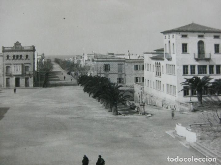 CIUDADELA-PASEO SAN NICOLAS-HERNANDO FOTOGRAFICA-POSTAL ANTIGUA-(70.242) (Postales - España - Baleares Antigua (hasta 1939))