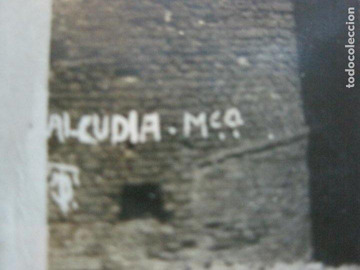 Postales: ALCUDIA-FOTOGRAFICA-MATASELLOS CENSURA MILITAR POR AVION-POSTAL ANTIGUA-(70.271) - Foto 3 - 204808302