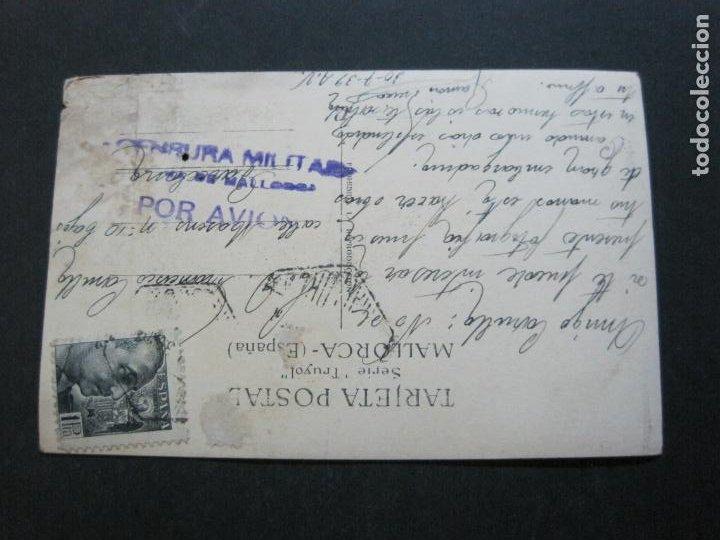 Postales: ALCUDIA-FOTOGRAFICA-MATASELLOS CENSURA MILITAR POR AVION-POSTAL ANTIGUA-(70.271) - Foto 4 - 204808302