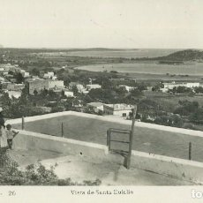 Postales: IBIZA-VISTA DESDE SANTA EULALIA-FOTOGRÁFICA VIÑETS. Lote 205022008