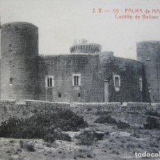 Postales: PALMA DE MALLORCA-CASTILLO DE BELLVER-J.V. 55-A.T.V.-POSTAL ANTIGUA-(70.413). Lote 205167593