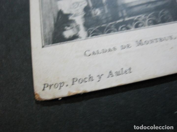 Postales: CALDAS DE MONTBUY-CAPILLA DE NTRA SRA DEL REMEDIO-REVERSO SIN DIVIDIR-POSTAL ANTIGUA-(70.445) - Foto 4 - 205176312
