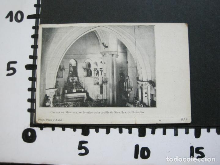 Postales: CALDAS DE MONTBUY-CAPILLA DE NTRA SRA DEL REMEDIO-REVERSO SIN DIVIDIR-POSTAL ANTIGUA-(70.445) - Foto 10 - 205176312