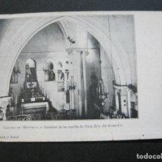 Postales: CALDAS DE MONTBUY-CAPILLA DE NTRA SRA DEL REMEDIO-REVERSO SIN DIVIDIR-POSTAL ANTIGUA-(70.445). Lote 205176312