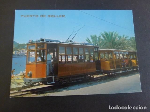 PUERTO DE SOLLER MALLORCA TRANVIAS (Postales - España - Baleares Moderna (desde 1.940))
