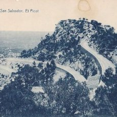 Postales: MALLORCA FELANITX SAN SALVADOR EL PICOT. ED. THOMAS, IMPRENTA REUS Nº 4. SIN CIRCULAR. Lote 205301582