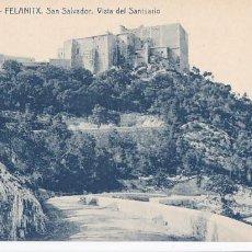 Postales: MALLORCA FELANITX SAN SALVADOR VISTA DEL SANTUARIO. ED. THOMAS, IMPRENTA REUS Nº 5. SIN CIRCULAR. Lote 205302150