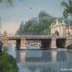 Postales: ZARAGOZA-PUENTE-POSTAL ANTIGUA-(70.580). Lote 205721180