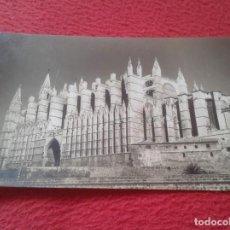 Postales: POST CARD PALMA DE MALLORCA FOTO EDICIÓN TRUYOL BALEARIC ISLANDS LA CATEDRAL THE CATHEDRAL VER FOTO.. Lote 205762731