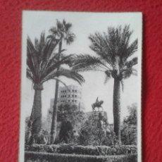 Postales: POST CARD PALMA DE MALLORCA BALEARIC ISLANDS PLAZA ESPAÑA MONUMENTO REY D. JAIME C. MAURI BARCELONA. Lote 205764331